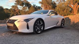 Before our final dinner with Lexus at the beautiful villa in Ibiza, I got the chance to take some pretty good shots of the 2018 LC 500h and LS 500h parked perfectly in front. The lighting was perfect and I'll have some nice photos up on my Flickr at at the Lexus Enthusiast at the link below.https://lexusenthusiast.com/forums/threads/lexus-collaborates-with-mark-ronson-on-new-lc-coupe-campaign.3340/The more I see the LS, the more the exterior styling has grown on me. I will have a video highlighting the LS later this week. The LC is just breathtaking no matter which angle you look at it.