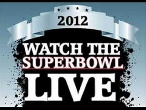 Super Bowl NFL Live Stream Football 2012 Online Video Coverage