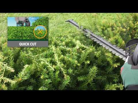 Tutorial: Akku-Heckenschere AHS 55-20 LI von Bosch