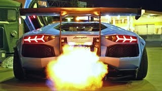 Video INSANE FLAMES! Lamborghini Aventador LP720-4 Ft. Liberty Walk/Armytrix/Airrex/Forgiato MP3, 3GP, MP4, WEBM, AVI, FLV Februari 2018
