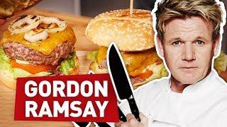 Video JE TESTE UNE RECETTE DE GORDON RAMSAY ! (Le Burger Parfait) MP3, 3GP, MP4, WEBM, AVI, FLV Agustus 2018