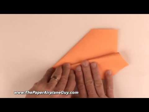 how to build the perfect paper airplane