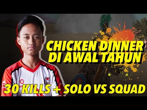 ZUXXY SOLO VS SQUAD 30 KILLS IN MIRAMAR ! - PUBGM Indonesia