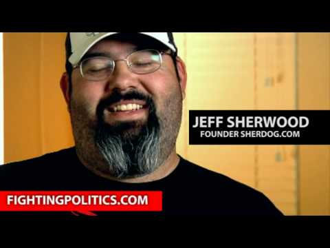 Jeff Sherwood founder SHERDOG.COM talking about Dana White and Matt Lindland UFC Versus 111