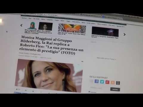 SCANDALOSA RISPOSTA RAI SUL CASO MAGGIONI-BILDERBERG (видео)