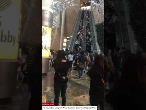 18 injured as Langham Place escalator malfunctions by going the opposite way