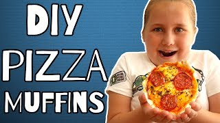 PIZZA MUFFIN RECIPE by  My Virgin Kitchen