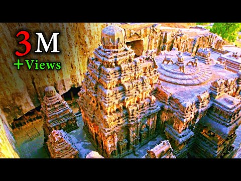 caves - This is the world famous Kailasa temple at Ellora and let's look objectively into who could have built this amazing structure. By the end of this video, I ho...