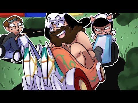 Panda's Kart Roulette, Wildcat's Rage & Mini's Consistent! - MARIO KART FUNNY MOMENTS