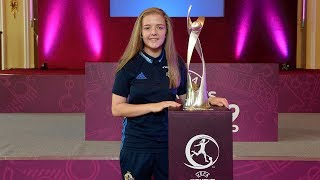 Ahead of the UEFA Women's Under 19 Championships, we'll be profiling some of those in our U19s! Captain Emma McMaster shares on her pathway in girls football & how this August will be an incredible experience for all involved.