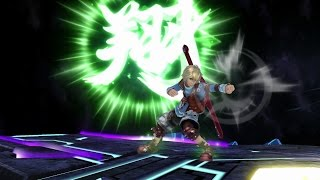 Shulk Moveset Showcase