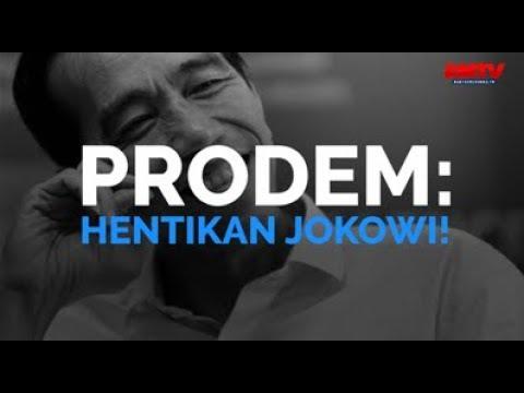 Prodem: Hentikan Jokowi!