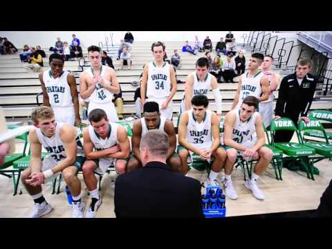 MBB: York vs Wesley Highlights - 12/2/15