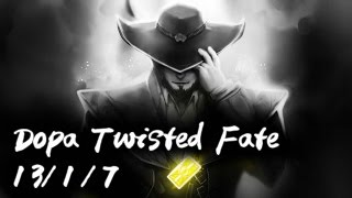 Dopa Twisted Fate Mid vs Yasuo  Dopa From Bronze to Challenge...