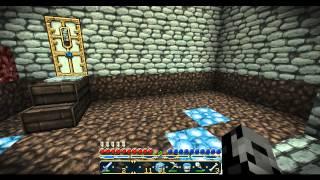 Minecraft Survival Ep. 34 - Hidden Secret Treasure Room - Let's Play - Hard