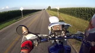 4. Ridding wheelies on my Honda XL600R