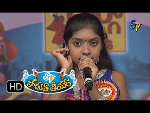 Ghanana-Ghana-Ghal-Ghal-Song--Neha-Performance-in-ETV-Padutha-Theeyaga--18th-April-2016