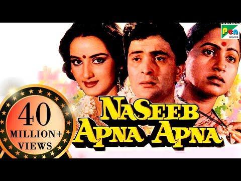 Naseeb Apna Apna | Full Hindi Movie | Rishi Kapoor, Farah Naaz, Amrish Puri, Raadhika