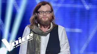 Video Michel Fugain (Forteresse) | Guillaume | The Voice France 2018 | Auditions Finales MP3, 3GP, MP4, WEBM, AVI, FLV Mei 2018