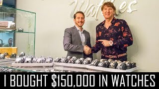 Video I BOUGHT $150,000 IN WATCHES MP3, 3GP, MP4, WEBM, AVI, FLV Januari 2019