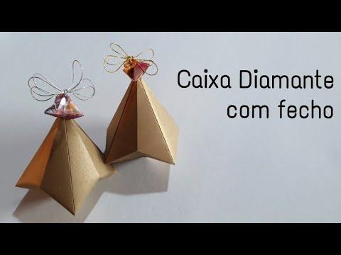 Caixa Pirâmide - modelo 1