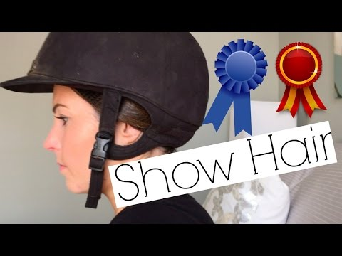 Horse Show Hair & Giveaway Winner!