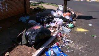 População de Marília ainda enfrenta problemas com a falta de coleta de lixo