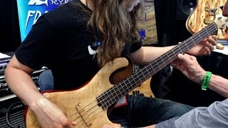 """FretTrax"" Bass to MIDI Interface"