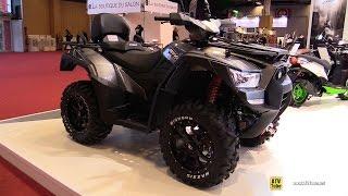 10. 2016 Kymco UXV 700i Sport EPS Utility ATV - Walkaround - 2015 Salon de la Moto Paris