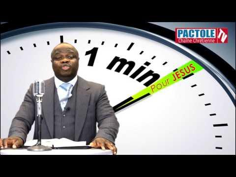 Pourquoi tu souffres? - Pasteur Bavon Kassongo-Badia - 1 Minute Pour Jésus