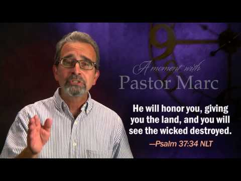 "A Moment with Pastor Marc #30<br /><strong>""Appointments""</strong>"