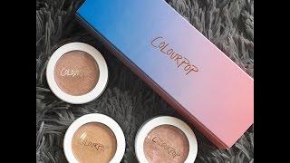 Colourpop Cannoli Highlight Trio Review