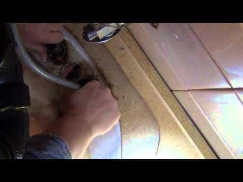 Repairing A Loose Bathroom Faucet!