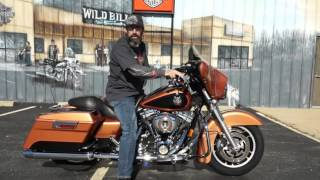 8. 2008 Harley-Davidson Anniversary FLHX, Copper Pearl on Black Street Glide!