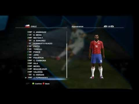 PES 2013 - Chile Estadísticas/Stats (HD)