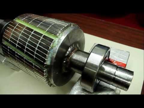 Переделать электродвигатель на генератор