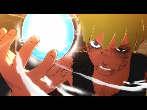Naruto Shippuden Ultimate Ninja Storm 4 All Cutscenes Game Movie - Full Story