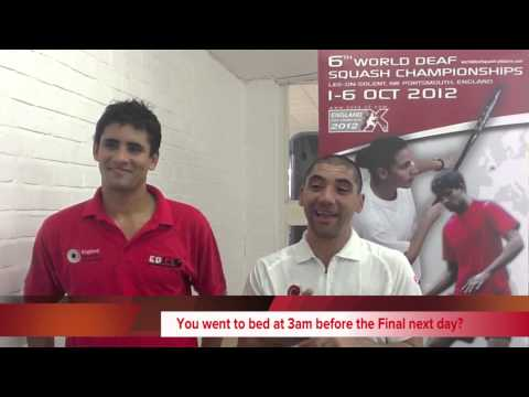 Image of World Deaf Squash Championships 2012