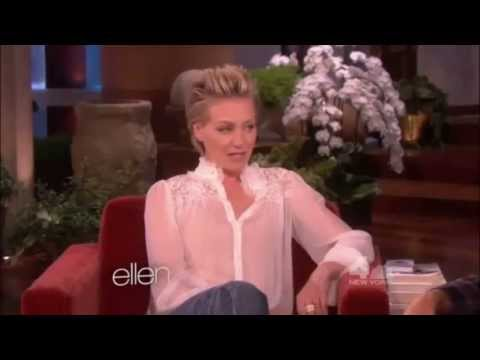 degeneres - Portia de Rossi on The Ellen DeGeneres Show. This was when Jennifer Aniston was co-hosting.