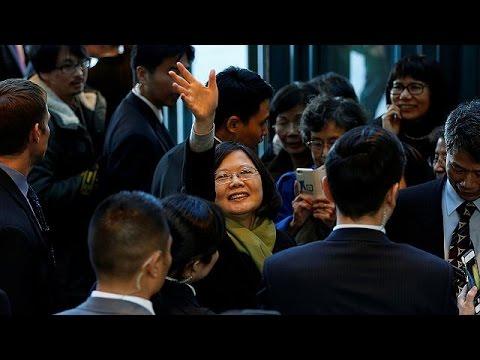 Στις Ηνωμένες Πολιτείες ξανά η πρόεδρος της Ταϊβάν
