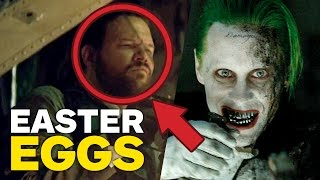 Suicide Squad EASTER EGGS, REFERENCES, and TRIVIA