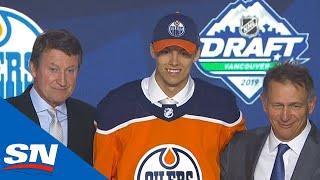 Edmonton Oilers Select Philip Broberg Eighth Overall In The 2019 NHL Draft by Sportsnet Canada