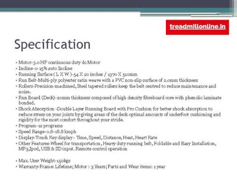 Treadmill maintenance contract India