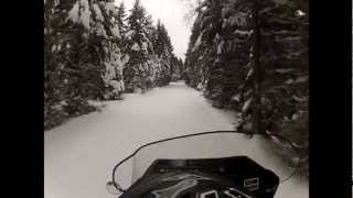 2. 1982 Ski-Doo Elite trail riding GoPro HD Hero 2