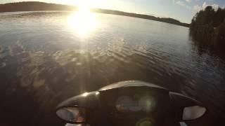 6. SeaDoo Wake Pro 215 sunset speed test