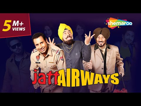 Jatt Airways | Jaswinder Bhalla | B N Sharma | Binnu Dhillon | Blockbuster Comedy Movie
