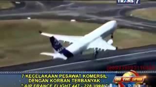 Video On The Spot - 7 Kecelakaan Pesawat Komersil Dengan Korban Terbanyak MP3, 3GP, MP4, WEBM, AVI, FLV September 2018