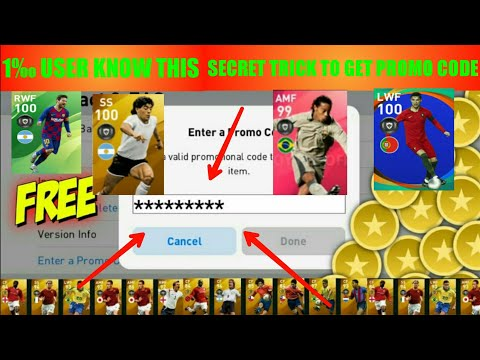 HOW TO GET FREE PROMO CODE IN PES 20 MOBILE/ PROMO CODE REWARDS IN PES MOBILE /RJ GAMER