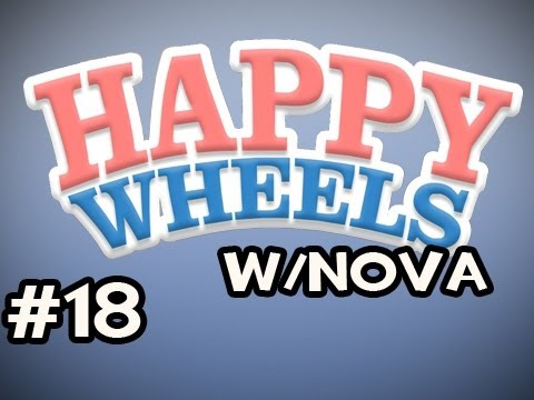 Happy Wheels w/Nova Ep.18 - The Old Man Trials Video