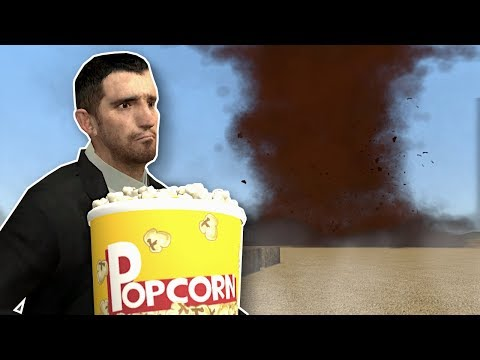 HUGE DUST TORNADO SURVIVAL! - Garry's Mod Gameplay - Gmod Tornado Survival